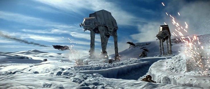 Star Wars Battlefront Hoth Planet